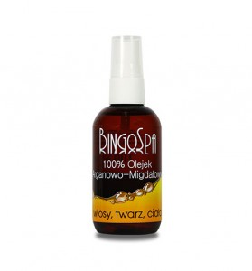 Bingospa olej arganowy i migdałowy